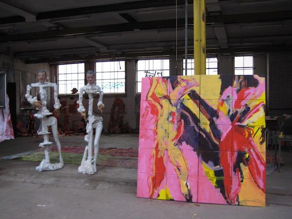 atelier robert pennekamp, wiener complex, amsterdam, schilderij, installatie, contact, amsterdam, oostenburgervoorstraat, atelier, brainstormbureau
